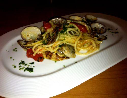 Spaghetti del Pastificio Martelli alle Vongole Veraci