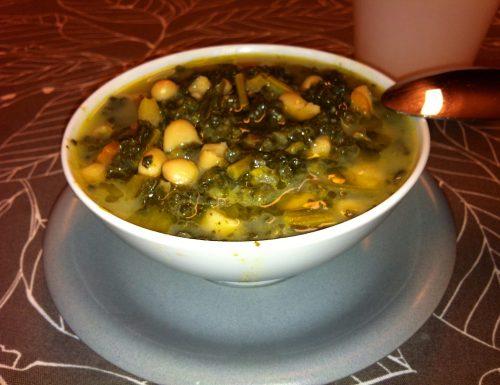 Zuppa di Cavolo Nero con Fagioli Cannellini