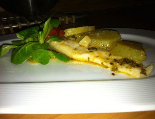 Filetti di Merluzzo alla Pizzaiola
